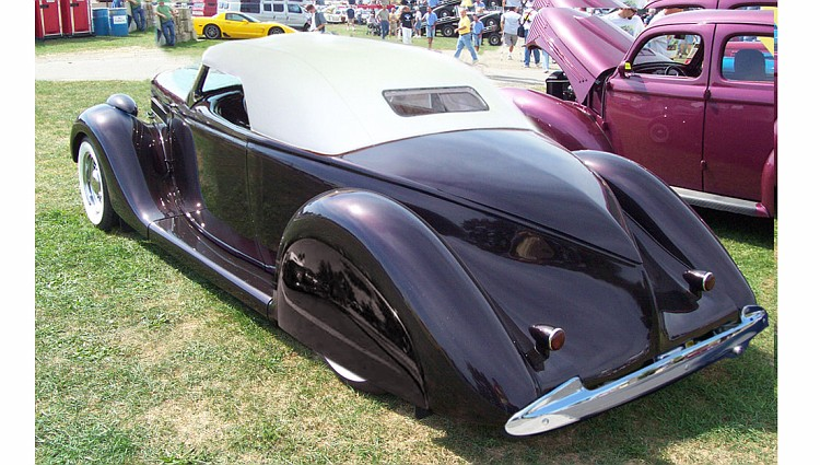 1936 Ford Roadster Fiberglass Body - The Ford Barn
